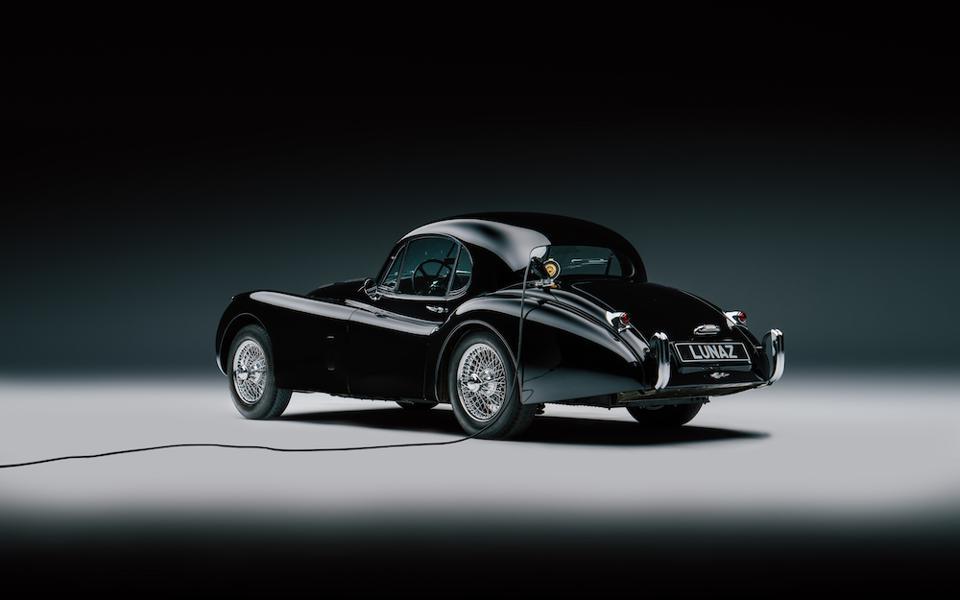 Electrified Jaguar XK120 by Lunaz