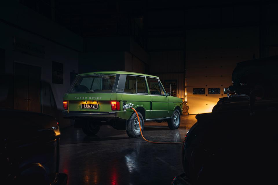 Lunaz Electric Range Rover
