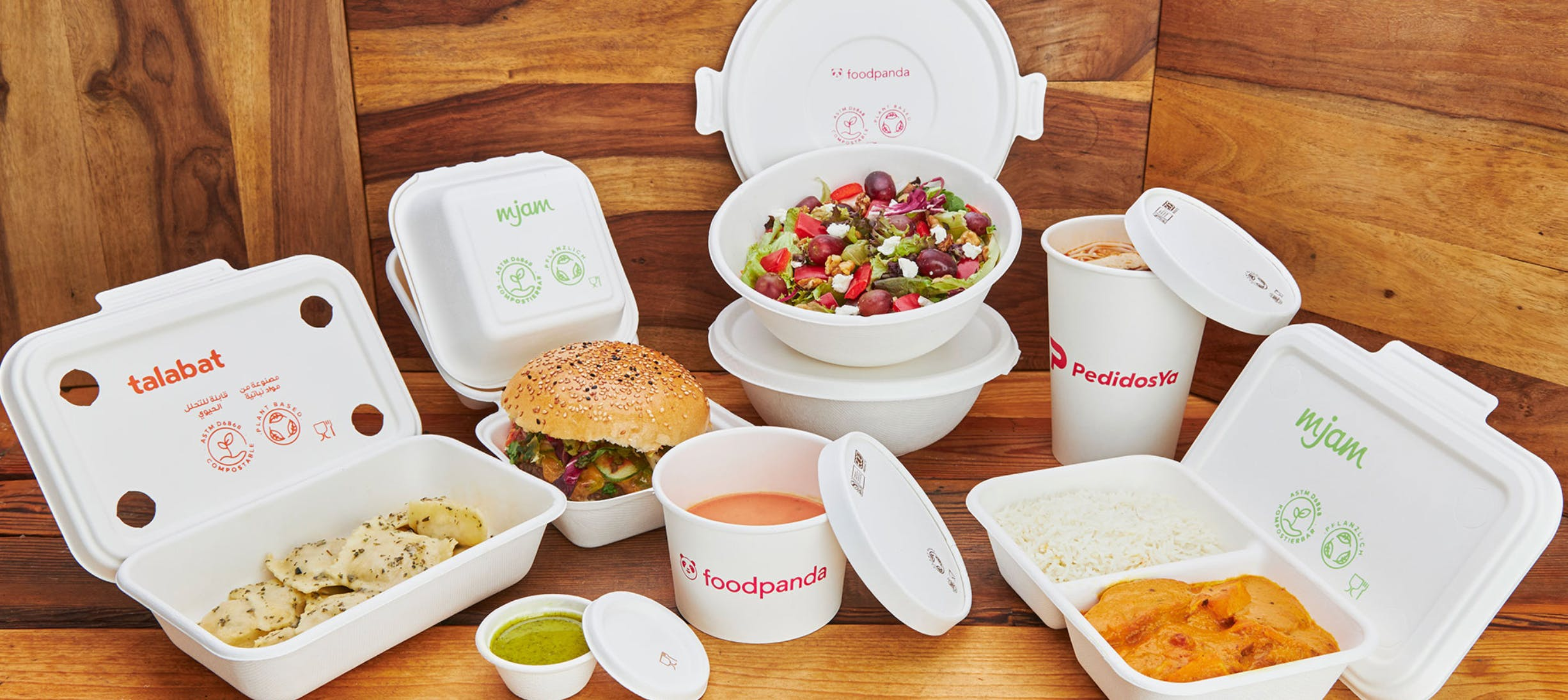 Delivery Hero's Sustainable Packaging Program